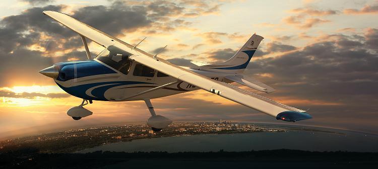 sétarepülés Cessna-172