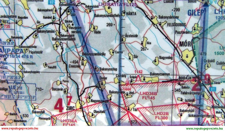 repülő térkép Az útvonalrepülés: 1. rész – A tervezés – Leendő pilótáknak… repülő térkép