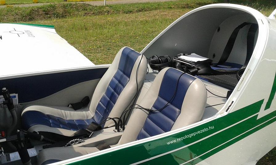 aero AT3 repülőgép csomagtér