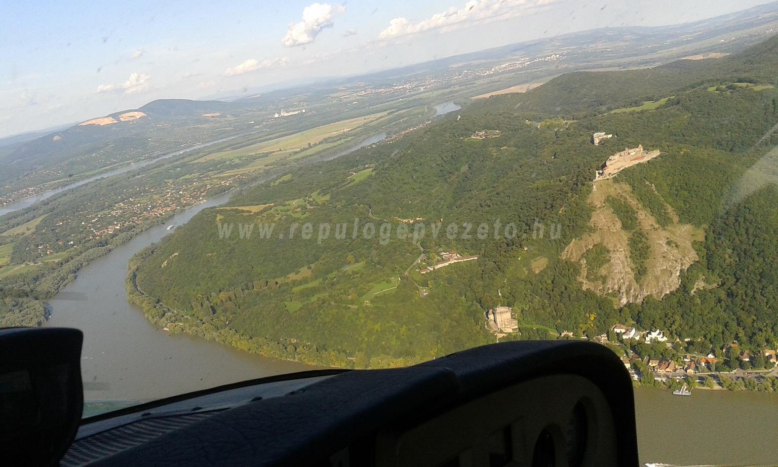 Visegrádi vár Dunakanyar sétarepülés