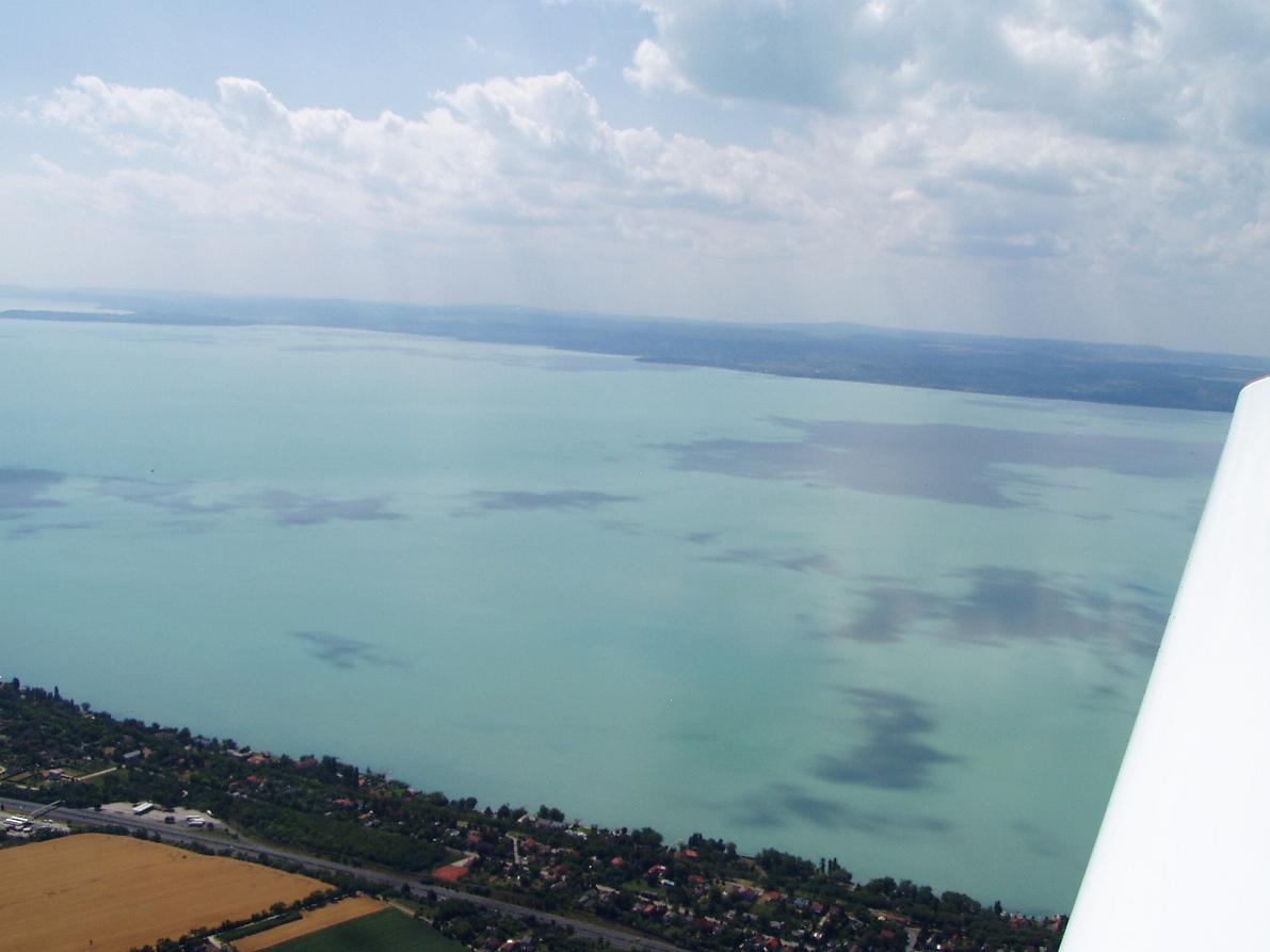Balaton a levegőből