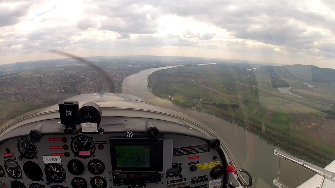 Visegrád and Szentendre Island sightseeing flight