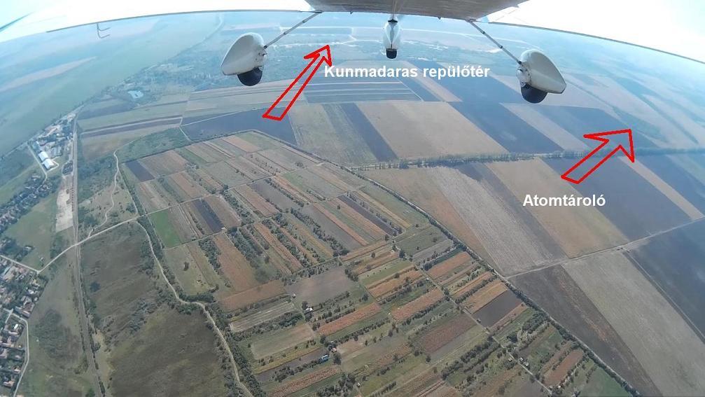 Kunmadarasi katonai repülőtér atomtároló atomsiló