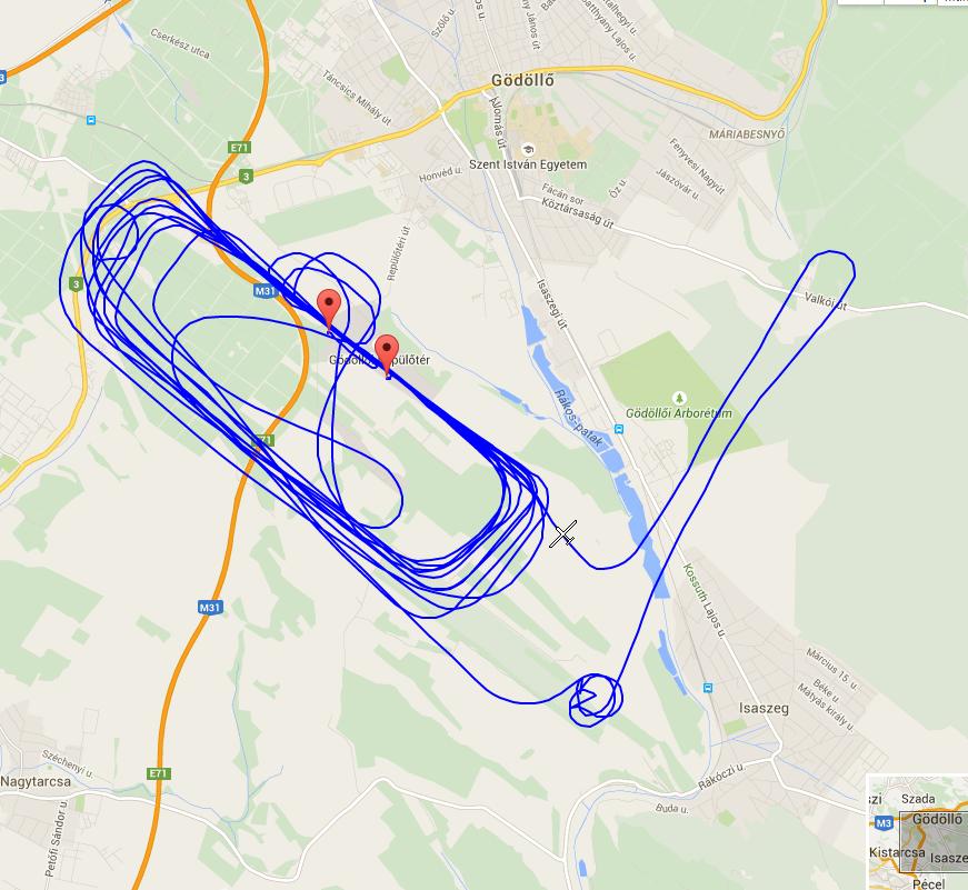 iskolakör repülés fel- és leszállások sétarepülés Gödöllő repülőtér